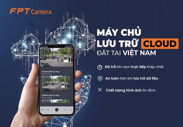 Camera an ninh - Indoor với khả năng quản lý thiết bị trên nền tảng Cloud