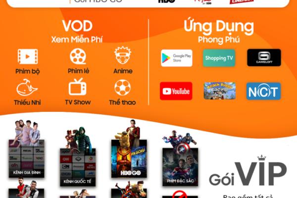 Danh sách kênh phong phú và đa dạng của truyền hình FPT