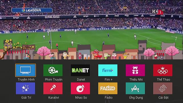 ứng dụng thể thao xem trực tiếp những trận đấu hấp dẫn