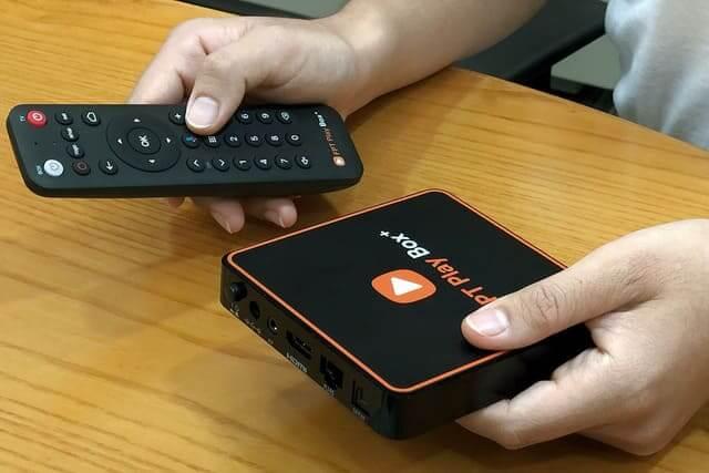Play Box của FPT nhỏ gọn dễ di chuyển